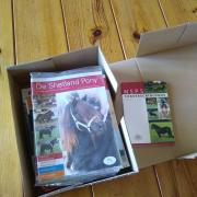 De Shetland Pony tijdschrift Jaargangen 61, 62, 63, 64 NSPS