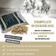 GRATIS Horsefood Basis Sportbrok bij aankoop van Strokorrels