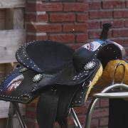 stoer cowboy/western zadel