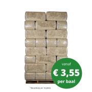Vlas strooisel levering in heel NL tegen scherpe prijzen