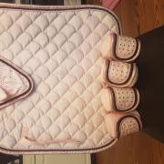 Roze cavallino Marino set