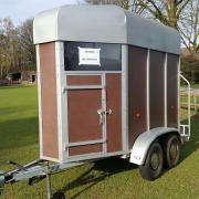 1,5 paards trailer Weijer