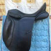 JC Black Jack dressuurzadel 17,5 inch boomwijdte 31