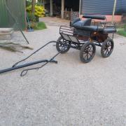Marathonwagen pony shetlander 18 inch