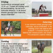 Geef je nu nog op voor een Paard & Ruiter Instructieweekend!