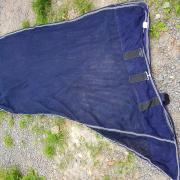 vliegendeken maat 145cm blauw