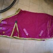 Vliegendeken BR roze/goud 155cm