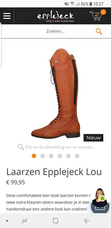 Laarzen Epplejeck Lou • Bokt.nl