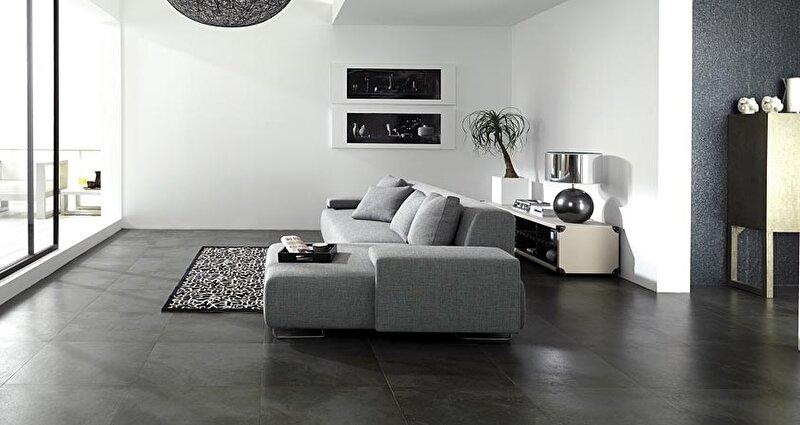 Huis inrichting met een donkere vloer • bokt.nl