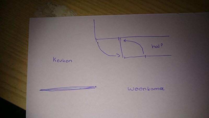 Draagmuur met hoek verwijderen? • bokt.nl