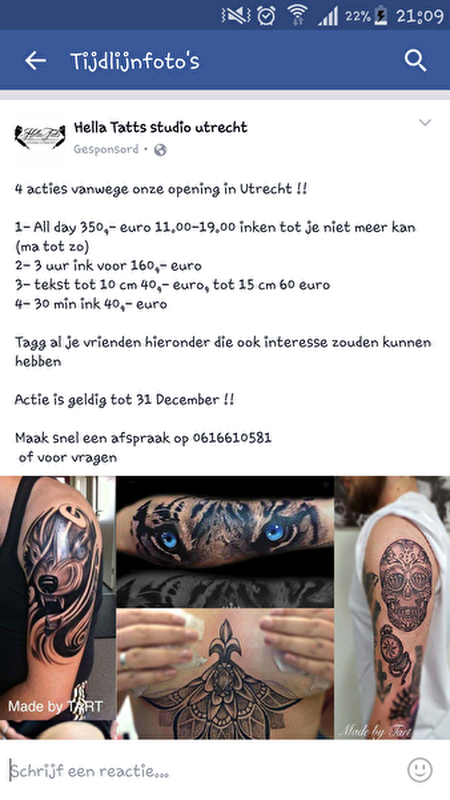 Wonderlijk Centraal] Tattoo's • Bokt.nl LC-69