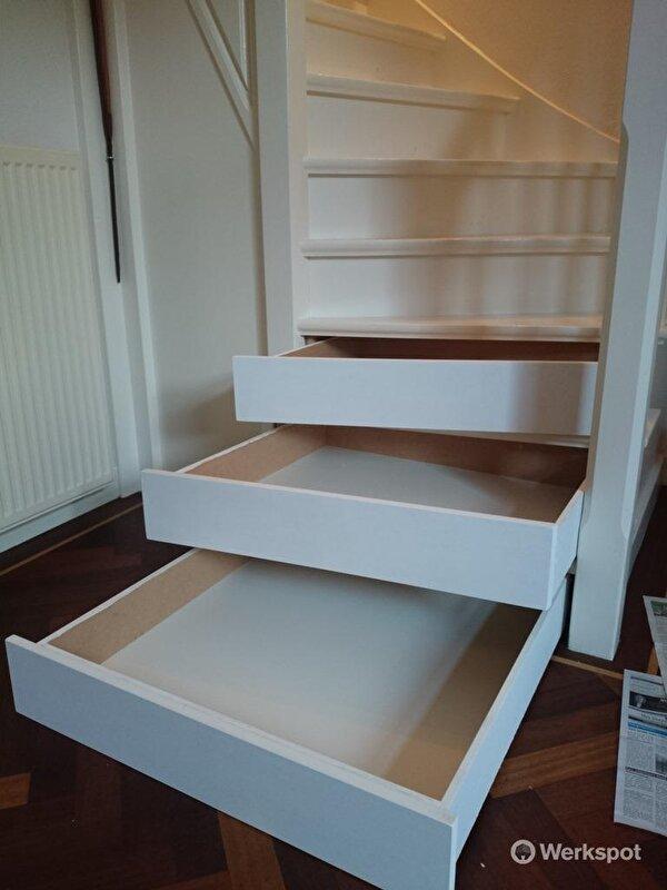 Genoeg Indeling trapkast...help! • Bokt.nl KH79