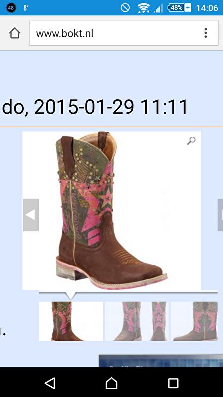 Waar Ariat western laarzen kopen? • Bokt.nl
