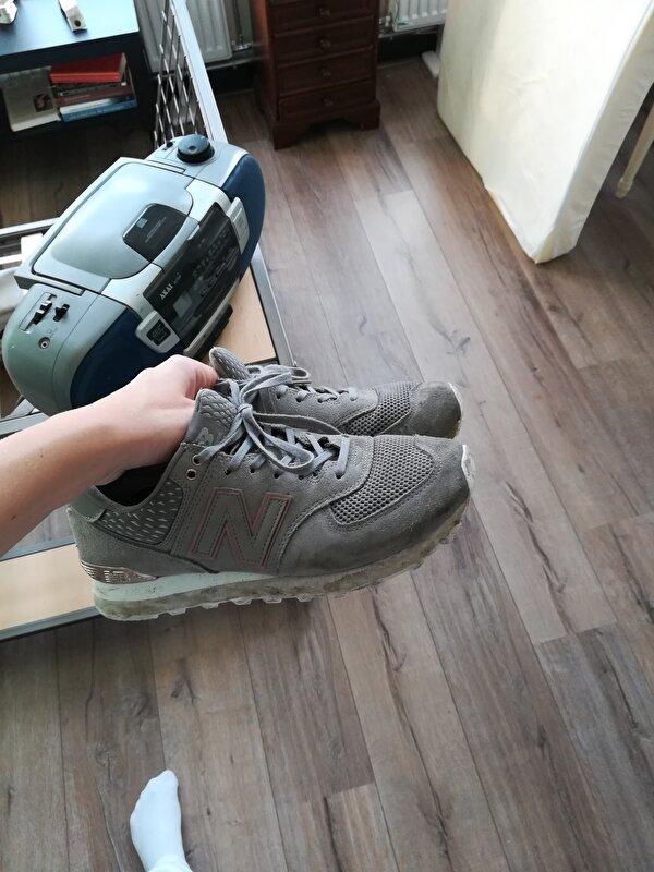 new balance schoenen in de wasmachine
