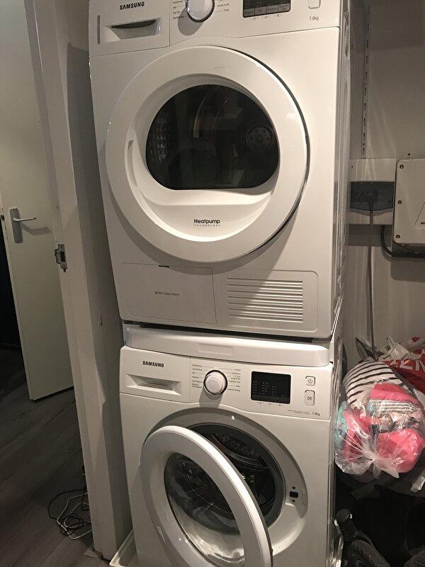 Welp Droger op wasmachine zonder stapelkit? • Bokt.nl VY-25
