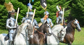Rossfechten: klassieke dressuur, barokke paarden & ridders