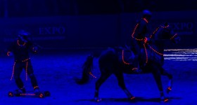 Horseboarding Showteam op de Friesian Proms!!