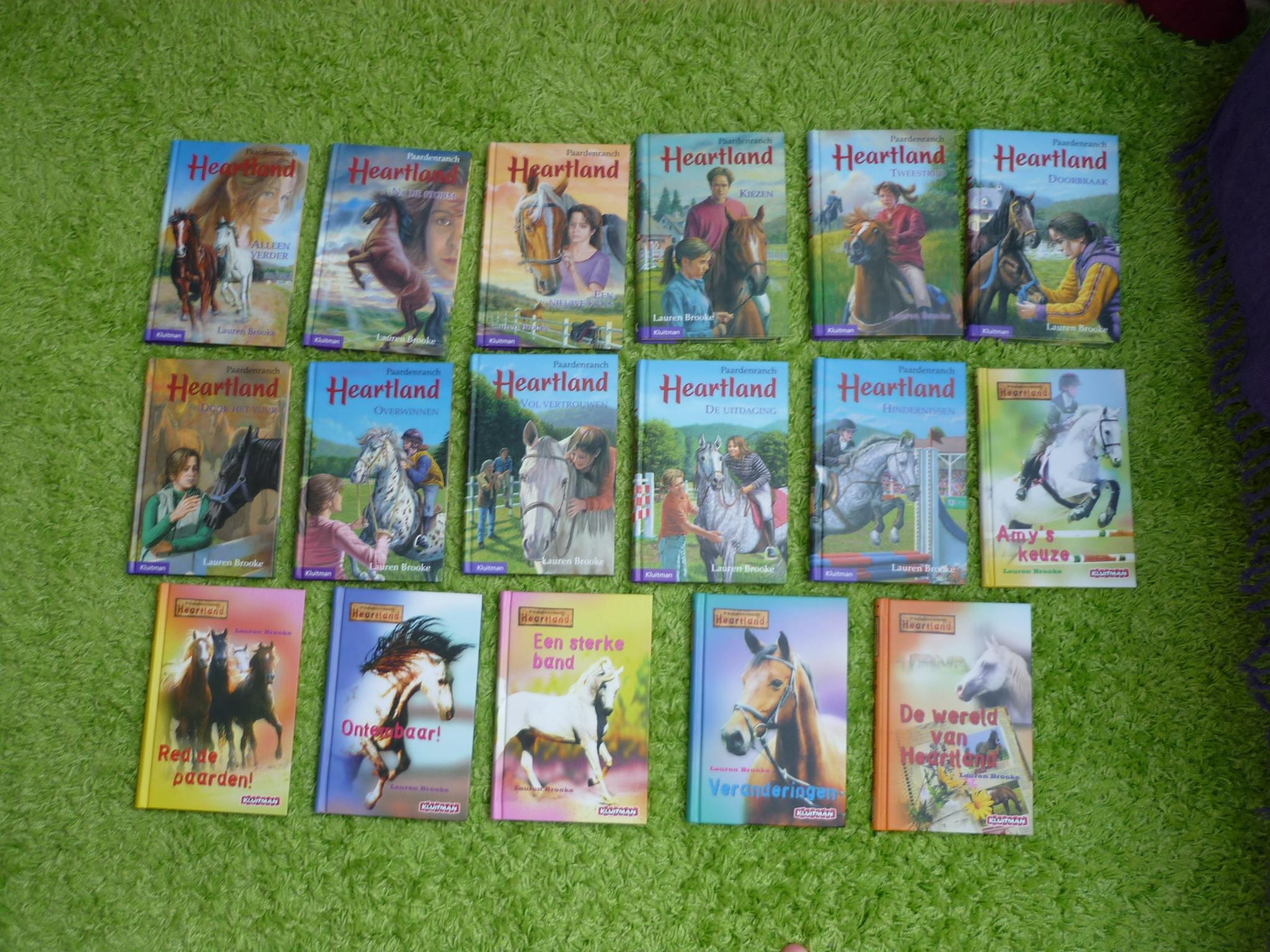 Gehele boekenserie Heartland - 17 boeken | Bokt.nl