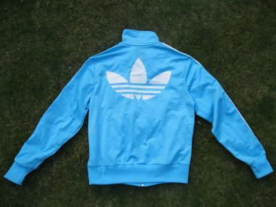 Adidas vest dames maat 42 valt als 38 blauwwit | Bokt.nl